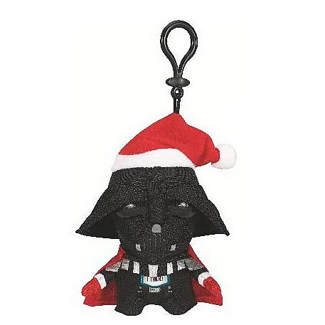 Star Wars Darth Vader with Santa Hat Mini Talking Plush