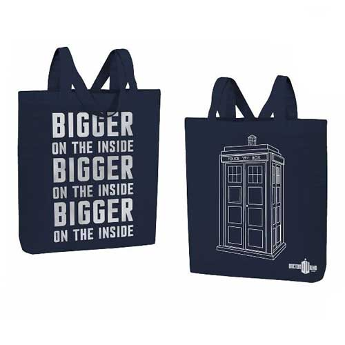 Doctor Who Bigger on the Inside Tote Bag