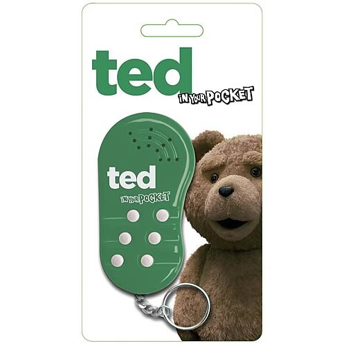 Ted In Your Pocket Voice Key Chain