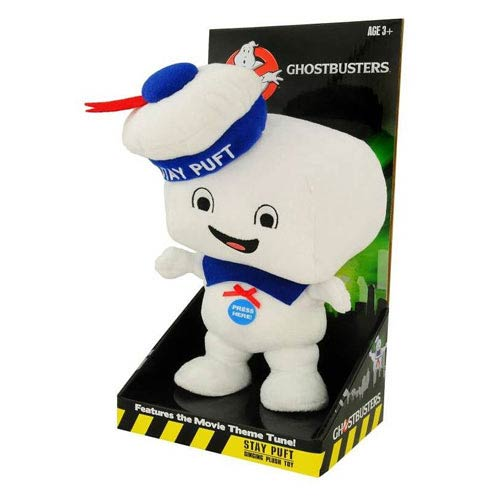 Ghostbusters Stay Puft Marshmallow Man 15-Inch Singing Plush