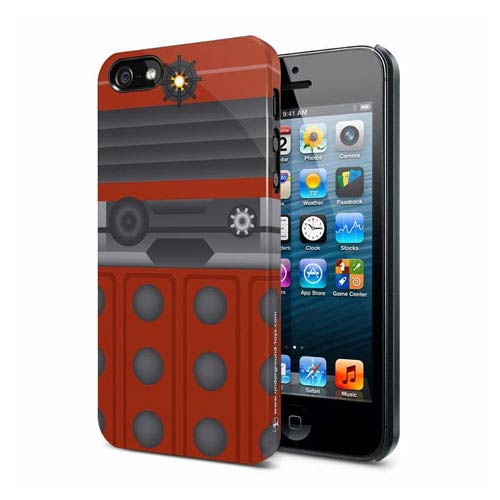 Doctor Who Another Dalek Red iPhone 5 Hard Cover