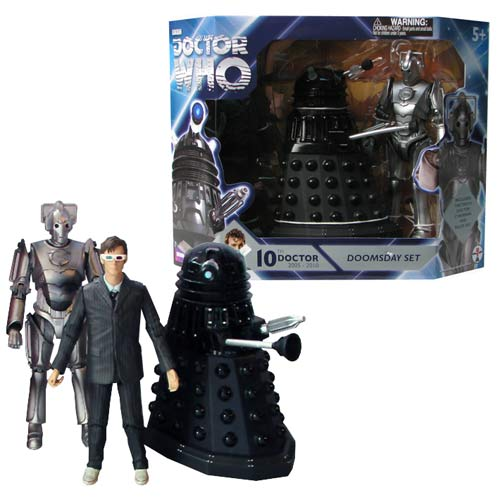 Doctor Who Doomsday Action Figures 3-Pack