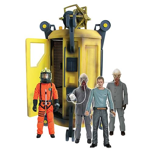Doctor Who Sanctuary Base 6 Playset with Figures