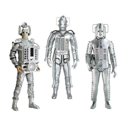 Doctor Who Cyberman Age of Steel Action Figure 3-Pack