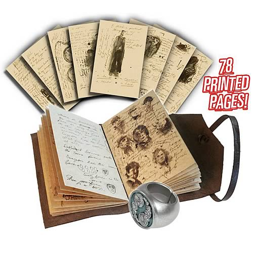 Doctor Who Journal of Impossible Things and Master's Ring