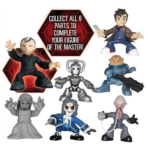 Doctor Who End of Time Time Squad Figures Case