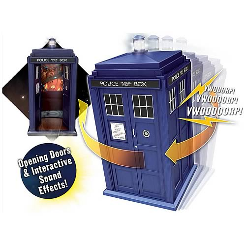 Doctor Who Flight Controlled TARDIS Vehicle