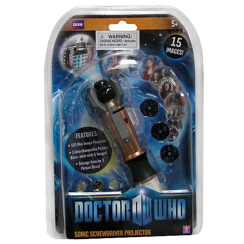 Doctor Who Sonic Screwdriver Projector Pen