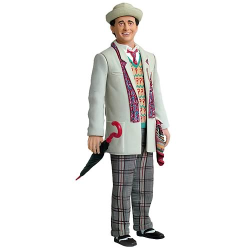 Doctor Who Seventh Doctor Time and the Rani Action Figure