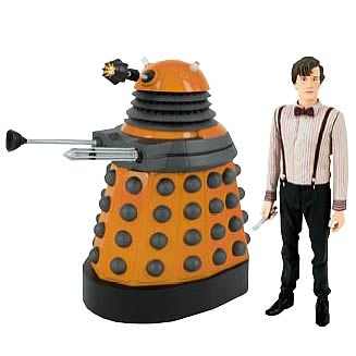 Doctor Who Eleventh Doctor and Dalek Scientist Figures