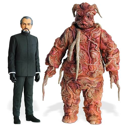 Doctor Who Exclusive Delgado Master and Axon Figure 2-Pack