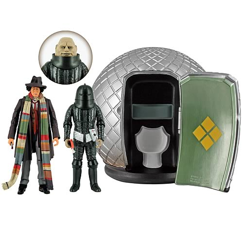 Doctor Who Sontaran Experiment Figure Collectors Set