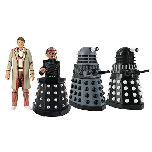 Doctor Who Resurrection of the Daleks Action Figure Set