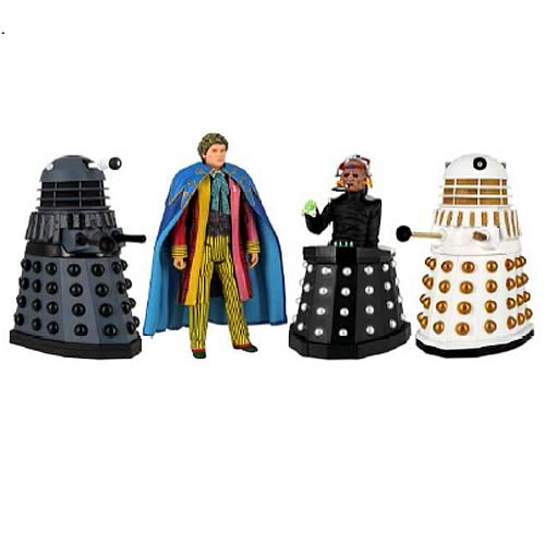 Doctor Who Revelation of the Daleks Action Figure Set