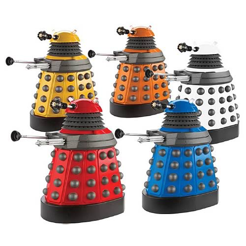Doctor Who Dalek Paradigm Action Figure Case