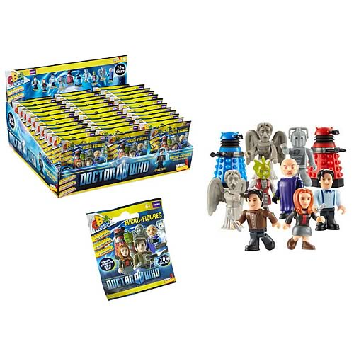 Doctor Who Character Building Mini Figure Ser. 1 Display Box