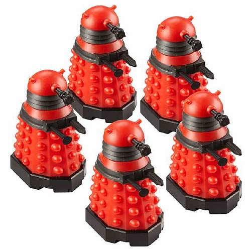 Doctor Who Character Building Dalek Army Builder 5-Pack