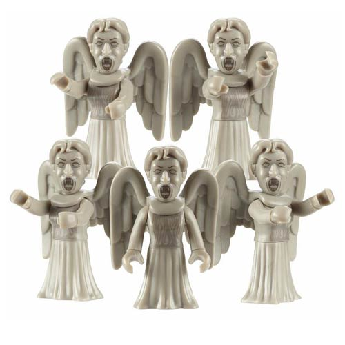 Doctor Who Weeping Angels Character Building Figure 5-Pack