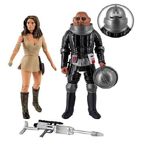 Doctor Who Invasion of Time Action Figure Set