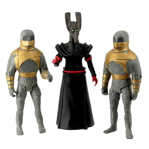 Doctor Who Pyramids of Mars Collector Action Figure 3-Pack