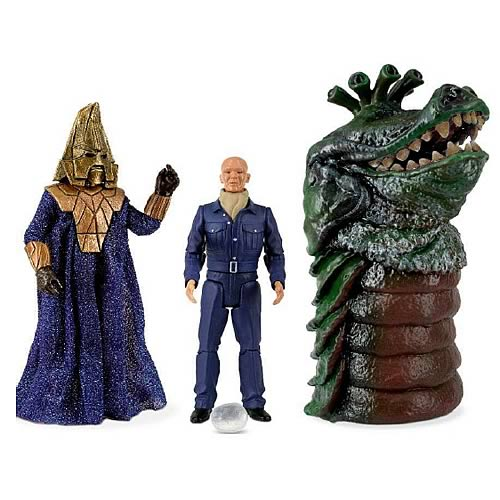 Doctor Who Enemies of the Third Doctor Figure Collector Set