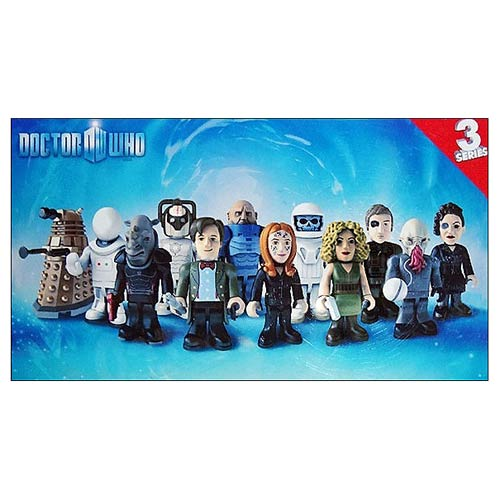 Doctor Who Character Building Figure Series 3 Display Box