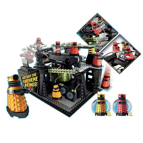 Doctor Who Dalek Factory Set Character Building