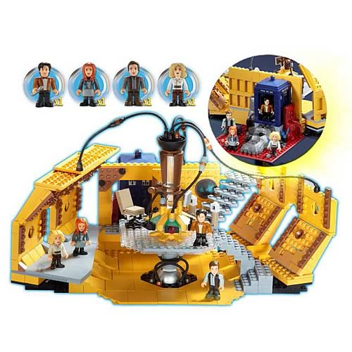 Doctor Who TARDIS Console Room Mega Building Set