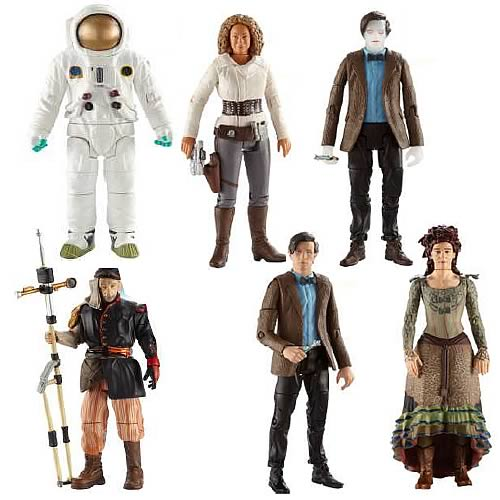 Doctor Who Eleventh Doctor Wave 6 Action Figure Case