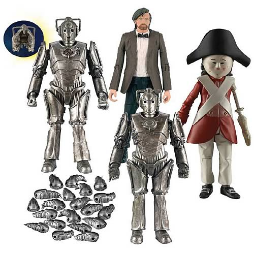 Doctor Who 5-Inch Wave 7 Action Figure Set