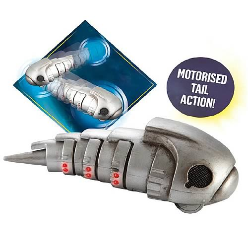 Doctor Who Bump and Go Cybermat Replica