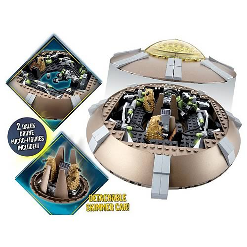 Doctor Who Dalek Spaceship Building Set