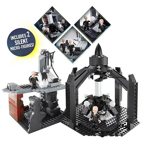 Doctor Who Silent Time Machine Character Building Set