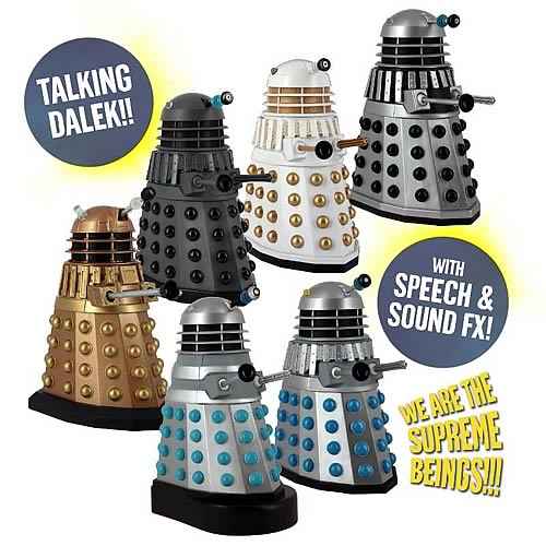 Doctor Who Talking Dalek 5-Inch Action Figure Set