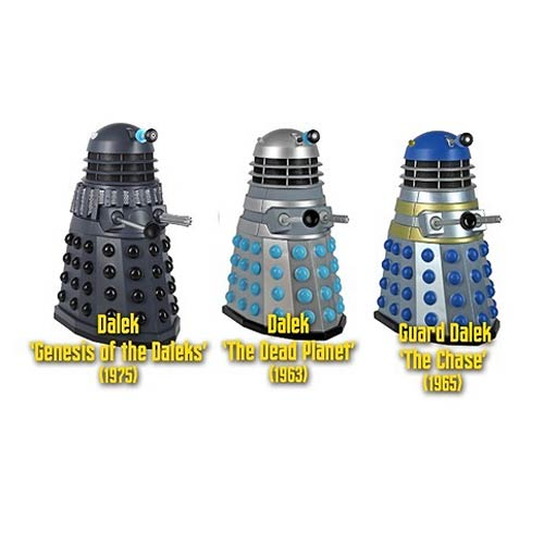 Doctor Who Talking Dalek 5-Inch Action Figure Case