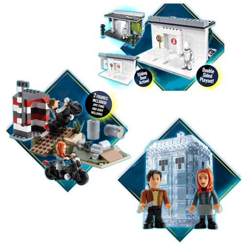 Doctor Who Building Set Assortment Case