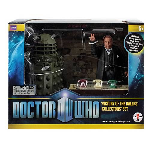 Doctor Who Victory of the Daleks Figure Collector's Set