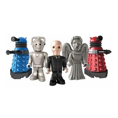 Doctor Who Character Building Monsters Mini-Figures 5-Pack