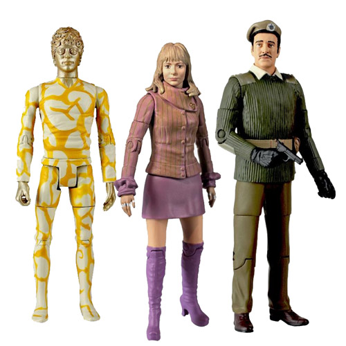 Doctor Who Claws of Axos Collectors Action Figure Set