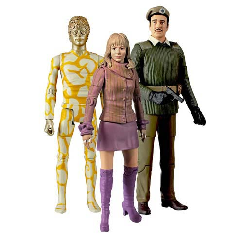 Doctor Who Claws of Axos Collectors Action Figure 3-Pack