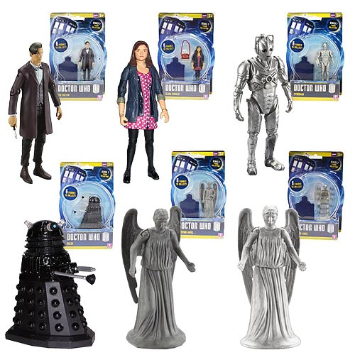Doctor Who Variant Edition 3 3/4-Inch Action Figure Set