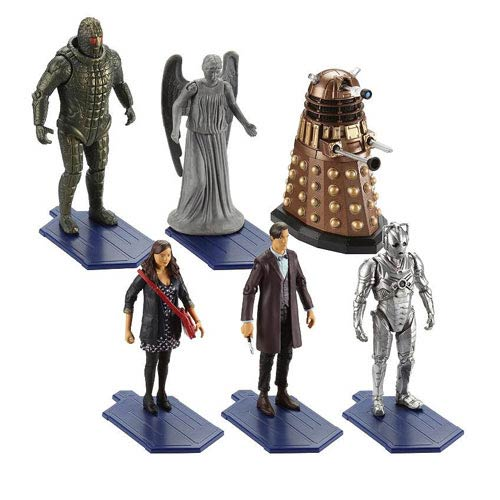 Doctor Who 3 3/4-Inch Action Figure Wave 1 Set