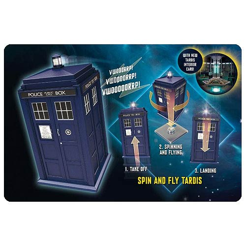Doctor Who Flying and Spinning TARDIS Electronic Vehicle