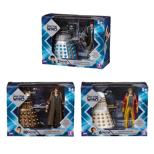 Doctor Who Doctor and Dalek Sets Wave 1 Set