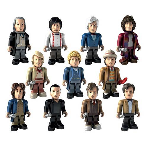 Doctor Who Character Building Mini-Figure 4-Pack