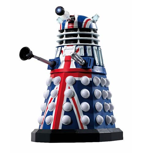 Doctor Who British Icon 12-Inch Dalek with Lights and Sounds