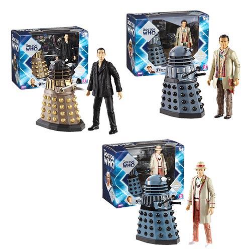 Doctor Who 11 Doctor and Dalek Sets Wave 2 Action Figure Set