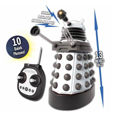 Doctor Who The Supreme 13-Inch Remote Control Talking Dalek