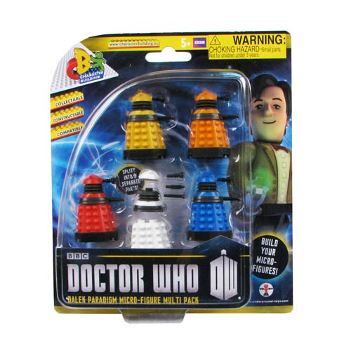 Doctor Who Character Building Dalek Paradigm Set 5-Pack