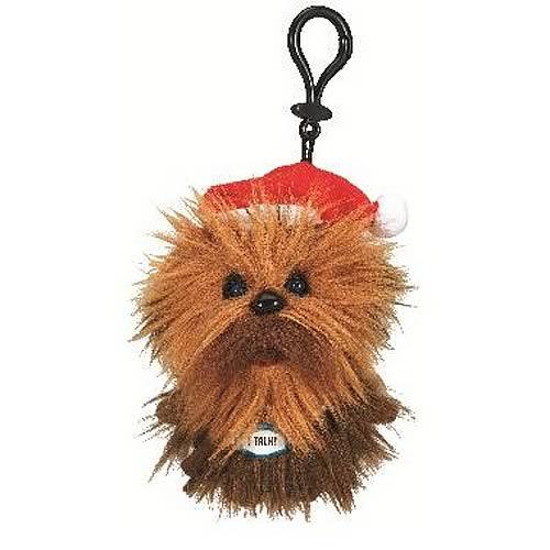 Star Wars Chewbacca with Santa Hat Mini Talking Plush